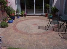 Block paving cleaning service - after