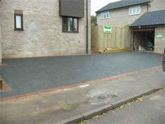Block paving driveway from Cambridge paving and patios - after