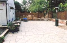 Patio paving from Cambridge paving and patios - after